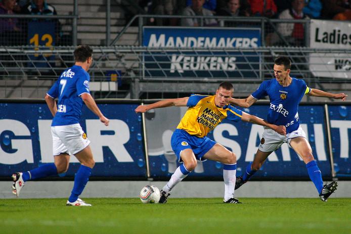 RKC, met Derk Boerrigter, pakte tien jaar geleden pas in de achtste ronde voor het eerst de drie punten: 4-1 tegen Roda JC.