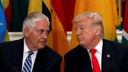 """""""Tillerson kwam eigen ontslag te weten door tweet Donald Trump"""""""