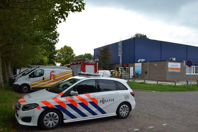 Sporthal De Bongerd in Bemmel is donderdagmiddag ontruimd omdat er een gaslek was ontstaan.
