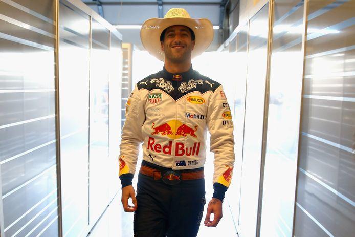 Ricciardo vorige week tijdens de GP van Verenigde Staten.