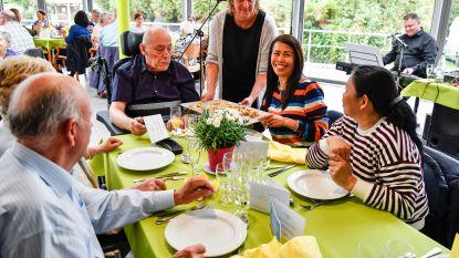 Hof ter Veldeken verwent bewoners en familie met lentebrunch