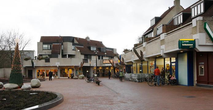 Winkelcentrum Bellestein op archiefbeeld.