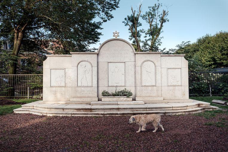 Monument van de Joodse Erkentelijkheid - Weesperstraat. Beeld Jakob van Vliet