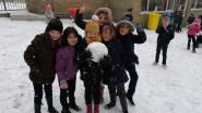 Dolle sneeuwpret tijdens middagpauze in GO! BS Centrum Geraardsbergen