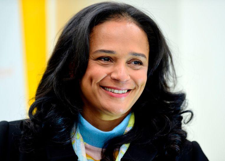 Isabel dos Santos.  Beeld AFP
