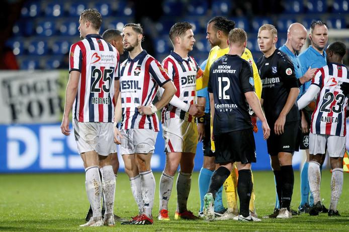 Peters met aanvoerdersband terug in het elftal van Willem II.
