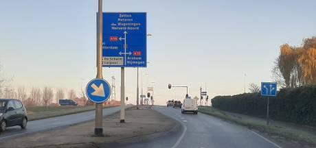 Tielsestraat Andelst-Valburg twee weken dicht