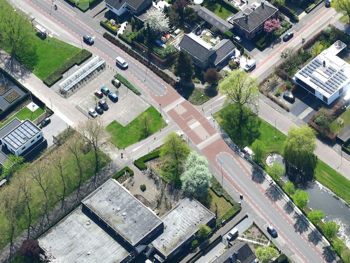 Impressie toekomstige fietsstraat Mgr. Schaepmanlaan