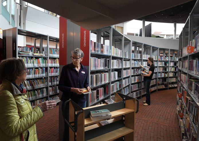 De bibliotheek van Ede.