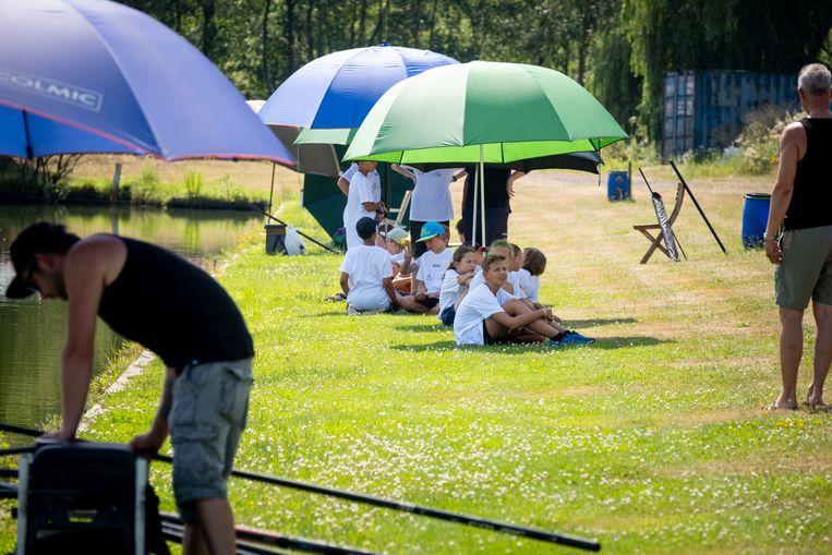 Het Loze Vissertje organiseert voor het eerst een hengelinitiatie voor kinderen.