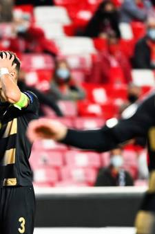 Le Standard rate le coche à Benfica, la qualification s'éloigne déjà