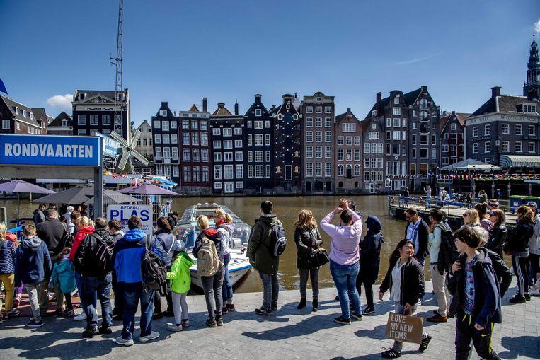 Het college wil een vast bedrag van 3 euro per nacht invoeren aan toeristenbelasting Beeld anp