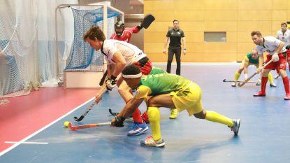 België maakt gehakt van Zuid-Afrika en plaatst zich voor kwartfinales WK hockey indoor
