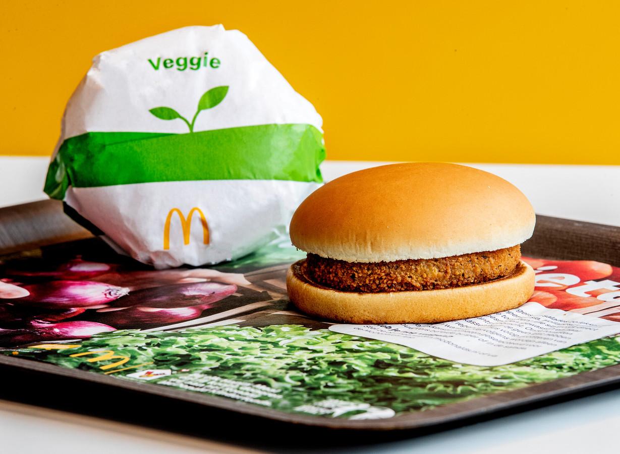 McDonald's introduceert de Veggie McKroket.
