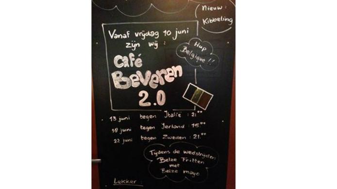 Bij café Krijnen in Bergen op Zoom hebben ze er zin in.