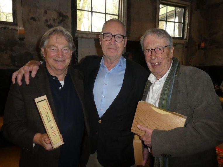 Nog meer culinair erfgoed: Paul Fagel, Cees Holtkamp en Henk Tuin. Beeld Hans van der Beek