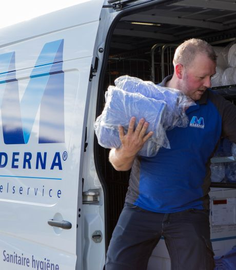 Deze wasserij uit Hardenberg wordt overspoeld met vragen over vaccin door stom toeval
