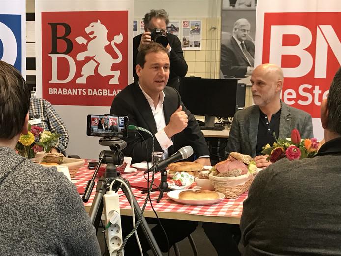 Lodewijk Asscher in gesprek met Brabantse lezers.