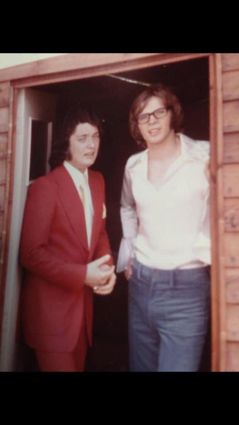 John Horton met Paul Severs toen ze samen in de jaren zeventig door Sylvain Tack gelanceerd werden vanuit de Suzy-wafelfabriek in Buizingen