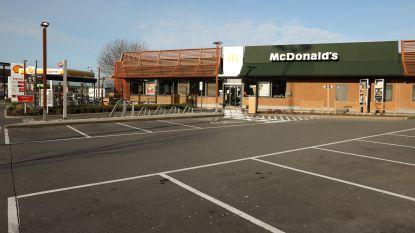 McDonald's, Quick en Burger King sluiten de deuren: ook afhalen niet mogelijk