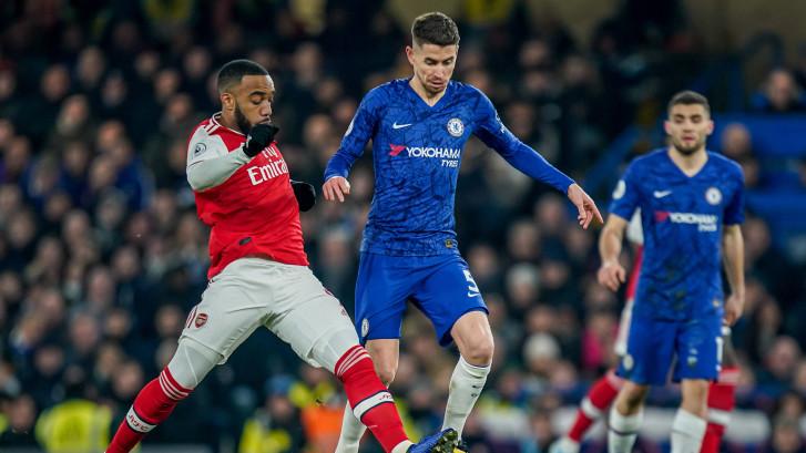 Arsenal en Chelsea knokken zich naar gelijkspel