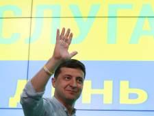 Le parti du nouveau président ukrainien Volodymyr Zelensky en tête des législatives
