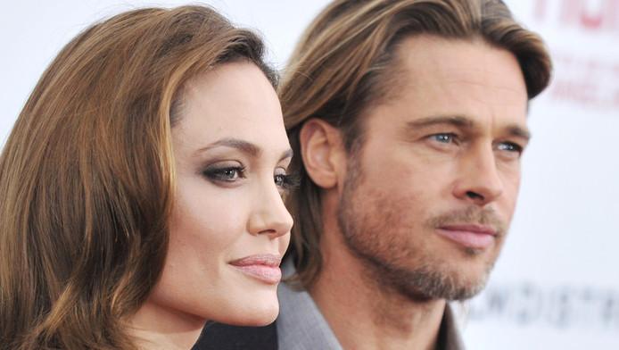 """Angelina Jolie et Brad Pitt à la présentation de """"Blood and Honey"""""""