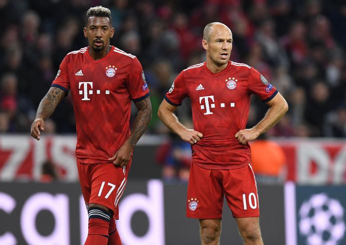 Jérôme Boateng en Arjen Robben zijn thuis gebleven.