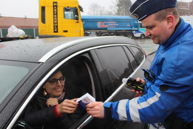 De controles kaderden in de ZAD-campagne van de politie.