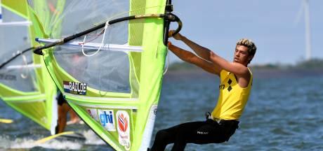 Badloe begint WK windsurfen beter dan Van Rijsselberghe