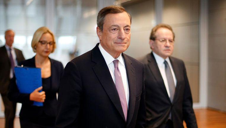 Mario Draghi, ECB-president. Beeld ap