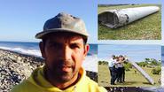 """Deze man ontdekte mogelijk brokstuk MH370: """"Het bezorgt me rillingen"""""""