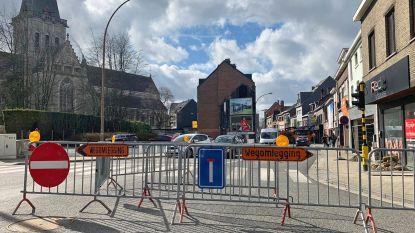 Rijstrook Nieuwstraat nog tot maandag afgesloten