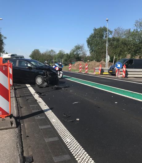 Gewonde bij ongeluk op N34 in Hardenberg