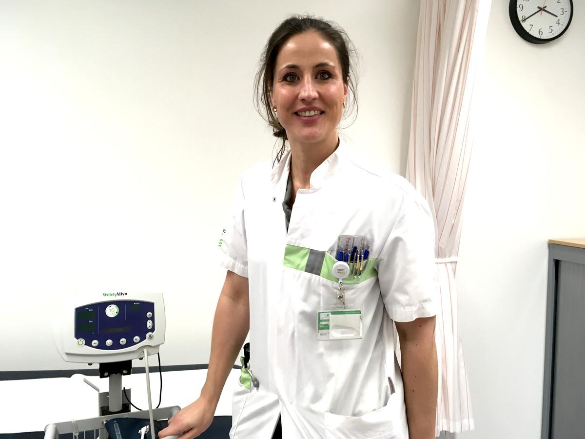 Marie Claire van Dijk-Le Cocq d'Armandville (36) is cardioloog.