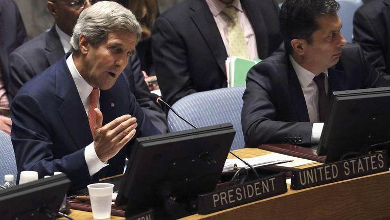 De Amerikaanse minister van Buitenlandse Zaken John Kerry Beeld reuters