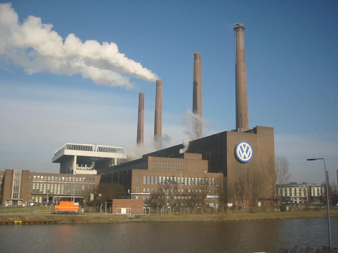 De Volkswagenfabriek in Wolfsburg.