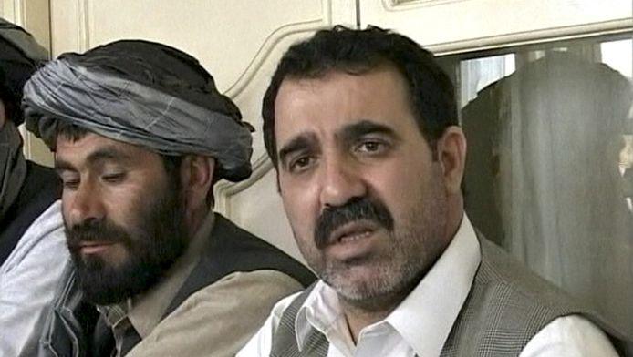 Ahmed Wali Karzai, op een videostill uit 2009.