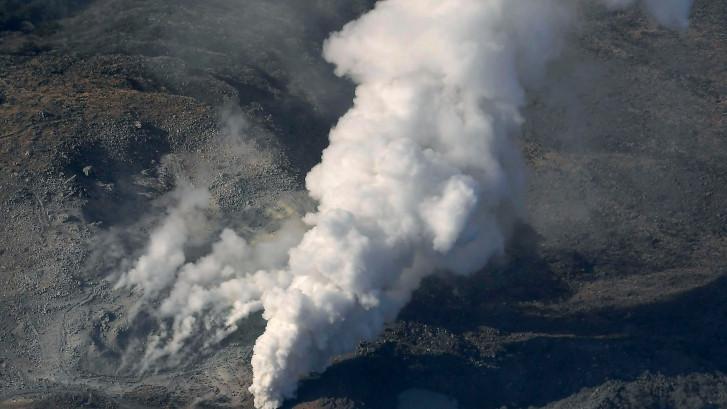 Vulkaan Japan barst voor het eerst in 250 jaar uit