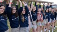 KLJ-meisjes scoren op Highlandgames