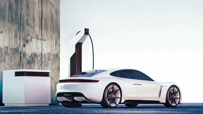 Opladen Elektrische Auto Wordt Bij Porsche Een Pitstop Auto Ad Nl