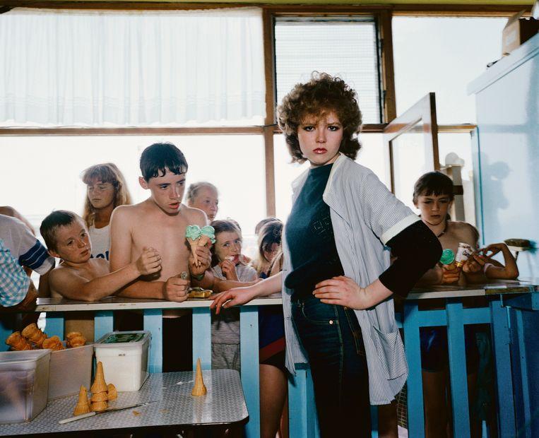 GB. England. New Brighton. From 'The Last Resort'. 1983-85. Beeld Martin Parr/Magnum Photos