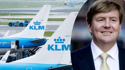Nederlandse koning al jaren anoniem aan de stuurknuppel van KLM-lijnvluchten