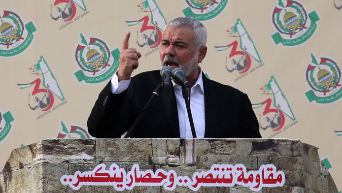 Ismaïl Haniyeh, chef du Hamas