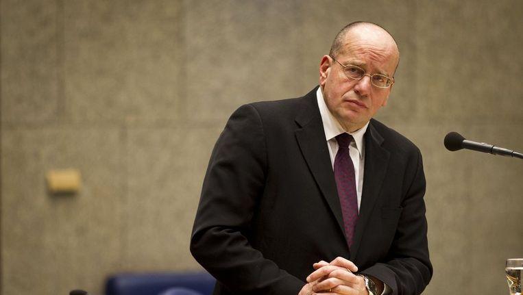 Staatssecretaris Fred Teeven van Veiligheid en Justitie. Beeld anp
