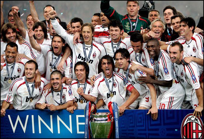 AC Milan verovert de Champions League.