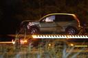 De auto's raakten flink beschadigd bij het ongeval op de A2.