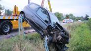 Kind (7) even in levensgevaar na crash op grens België-Nederland