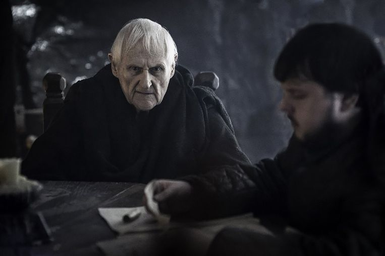 Still van Peter Vaughan in Game of Thrones. Beeld