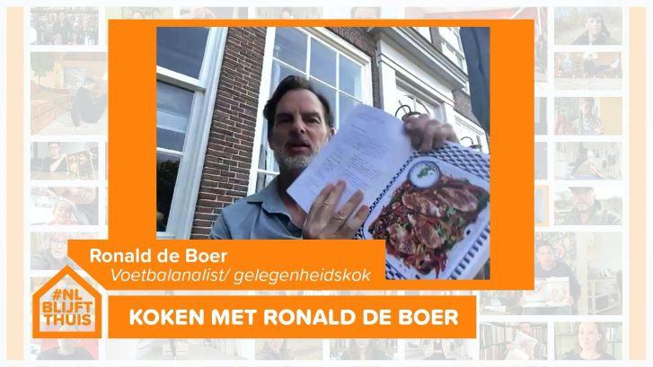 Topchef Ronald de Boer scoort met topgerechten
